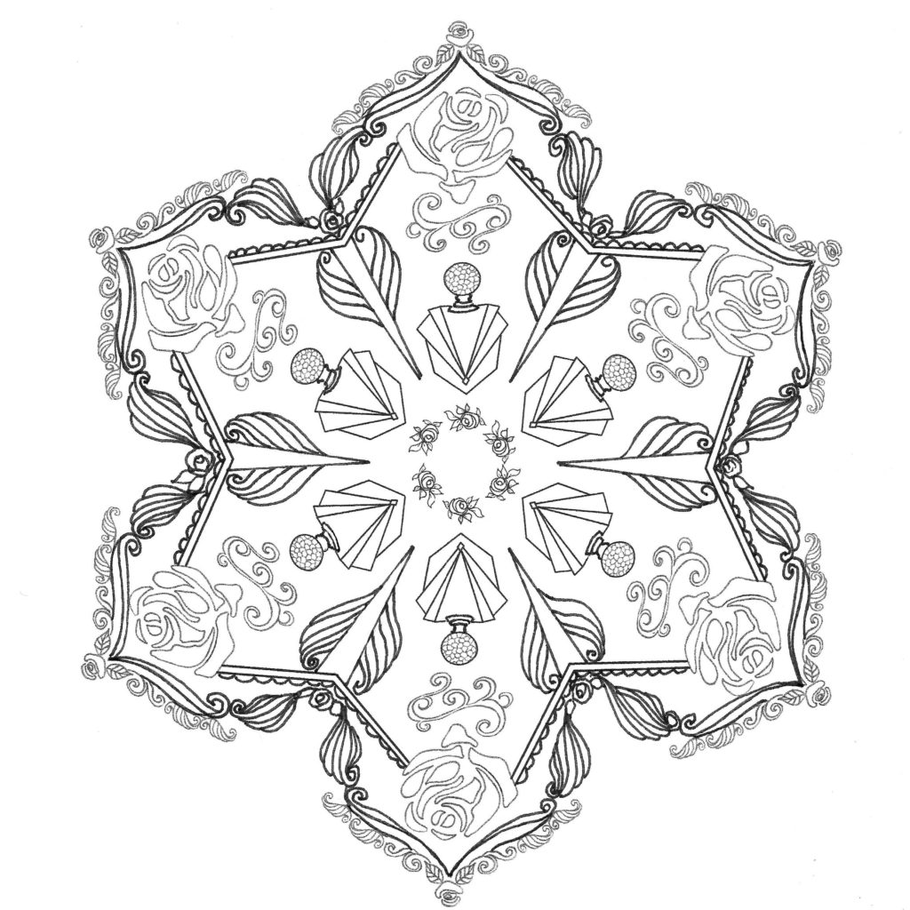 Illustration Mandala