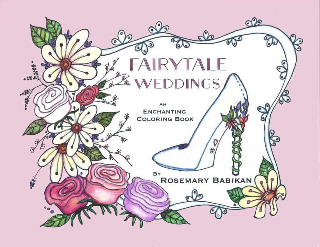 Adult Coloring Wedding Book