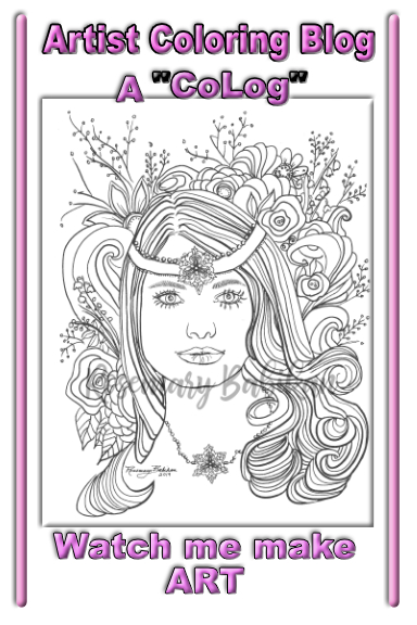 Adult Coloring Blog Pin