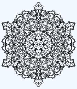 Mandala 6-5-20 Download and Color
